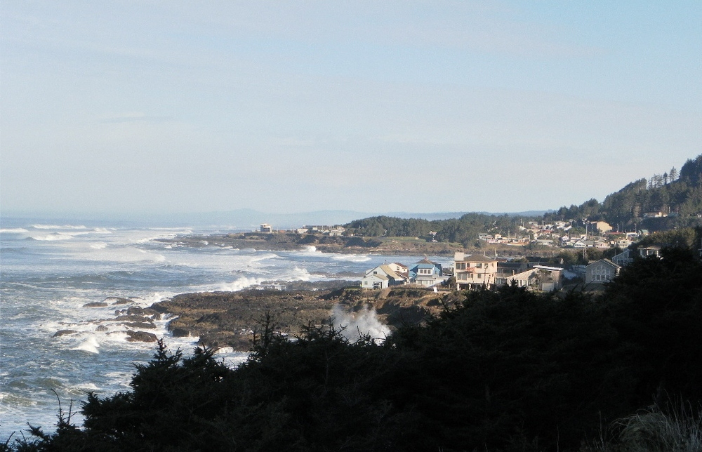 A View of Yachats