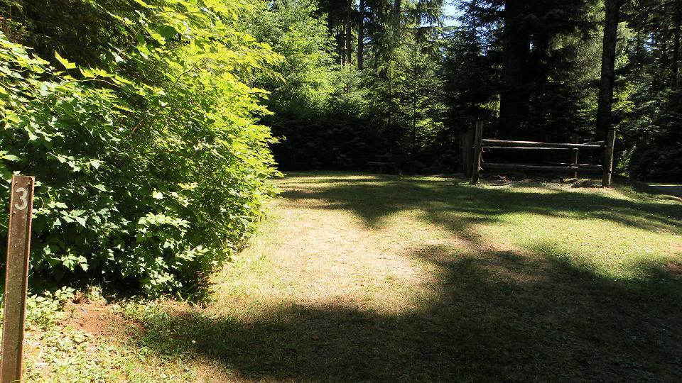 Various-size Campsites