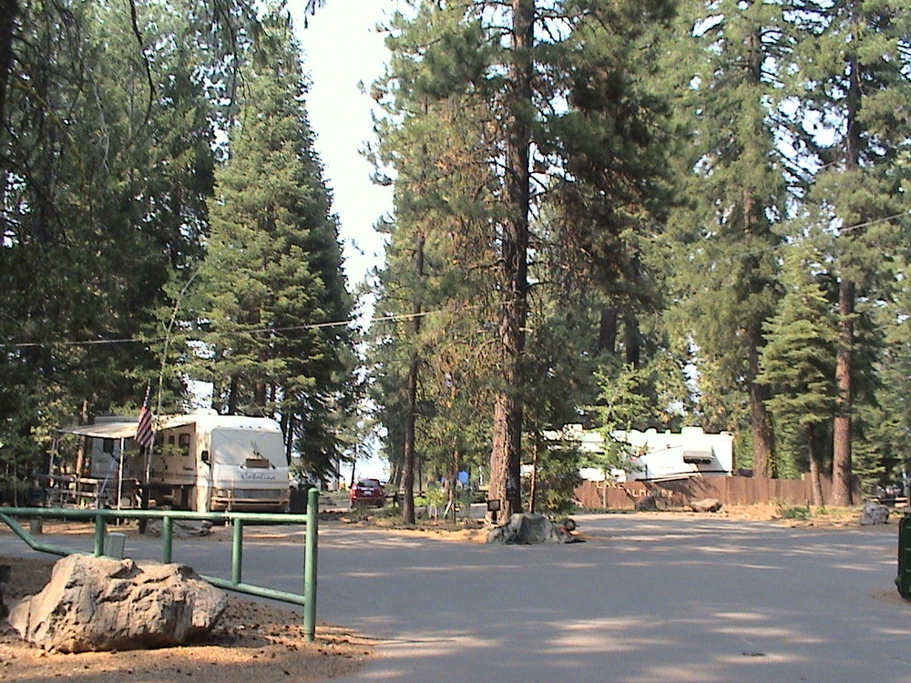 Rocky Point, Loop A - 3 host sites near entrance; the 3rd site is outside the photo to the left