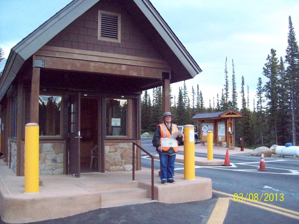 Brainard Lake Recreation Area Entrance