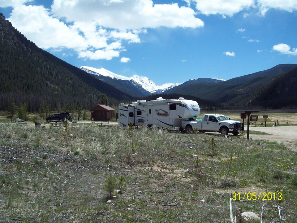 Roaring Fork Host Site Overview - photo by Larry Harmon