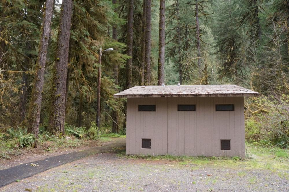 Restrooms - vault toilets
