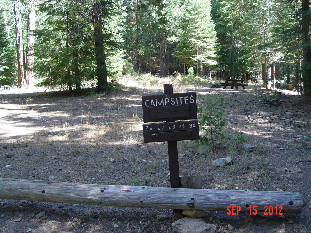 Walk-in Campsites