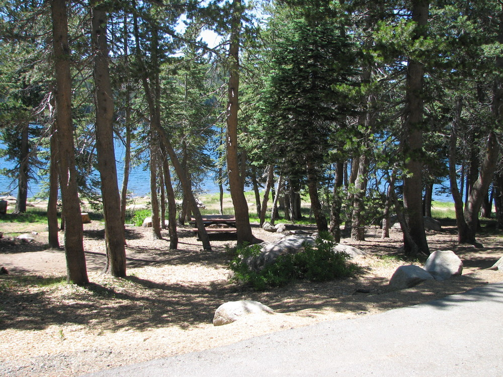 High elevation campground