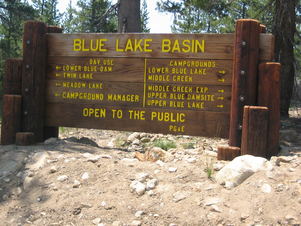 blue lake basin near carson pass - Campground Manager