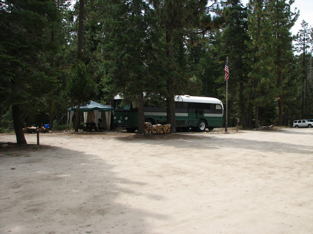 Sand Flat Campground Host Site