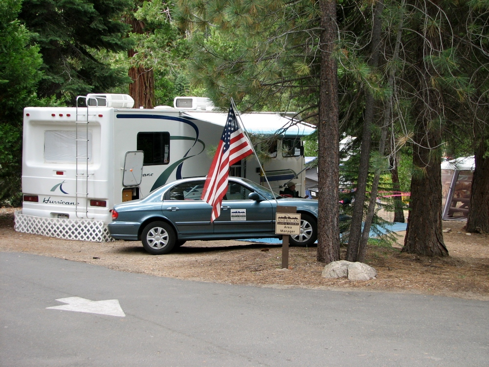 Area Manager site in Deadman Campground.
