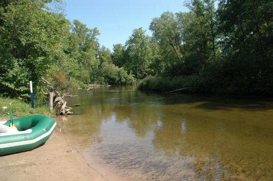 Fishing the Pere Marquette River