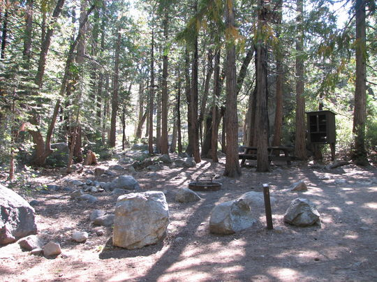 Stumpy Meadows Campground , Eldorado National Forest, near Georgetown, California