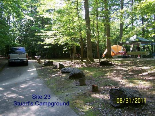Tent-friendly camping