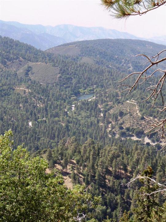 View from Angeles Crest Scenic Byway