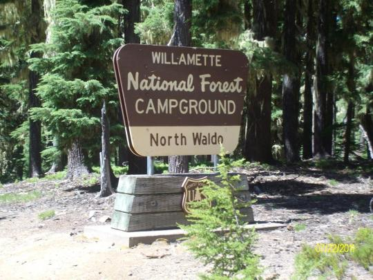 Welcome to North Waldo Campground on the lake!