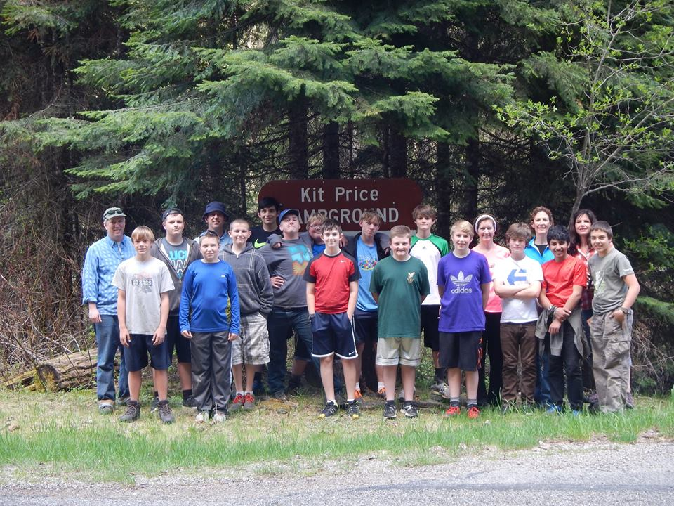 Spokane, Washington, Boy Scout Troop 313 - Kit Price Campground