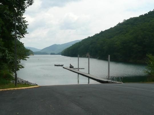 Fortney Branch Boat Ramp