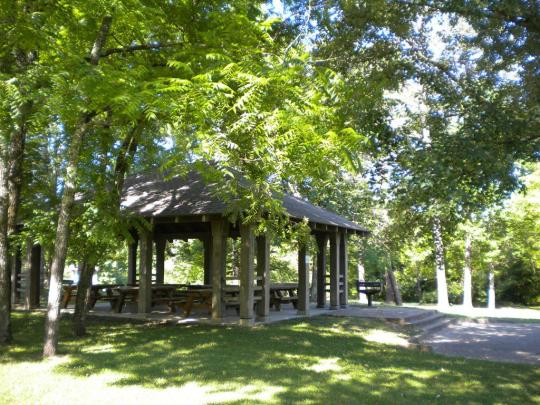 Picnic Shelter in Craigs Creek Group Area