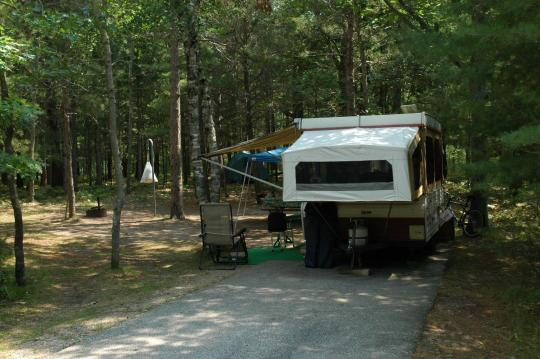 RV friendly campsites
