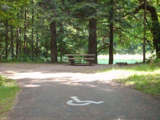 Accessible campsites