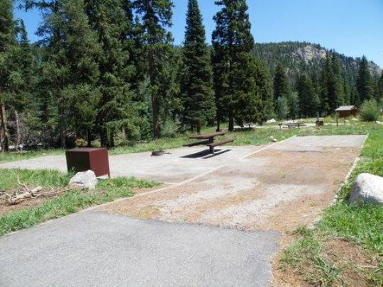 Handicap Accessible Campsites