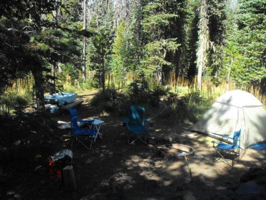 Tent friendly campsites