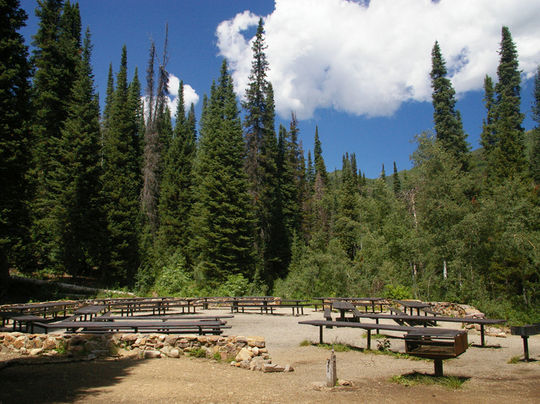 Jordan Pines Group Campground