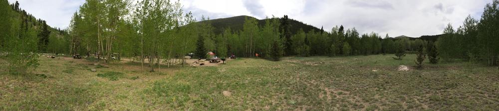 Scenic camping