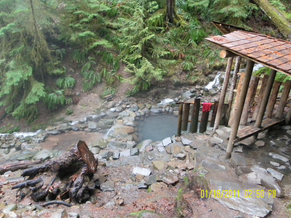 Terwilliger Hot Springs, McKenzie River, OR