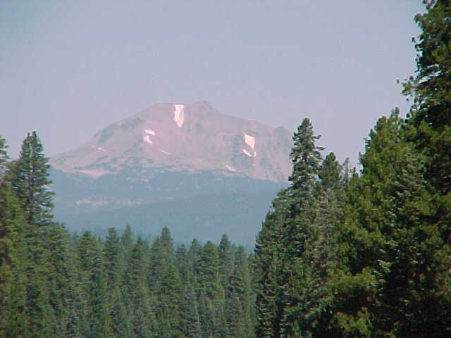 Mt Lassen in July