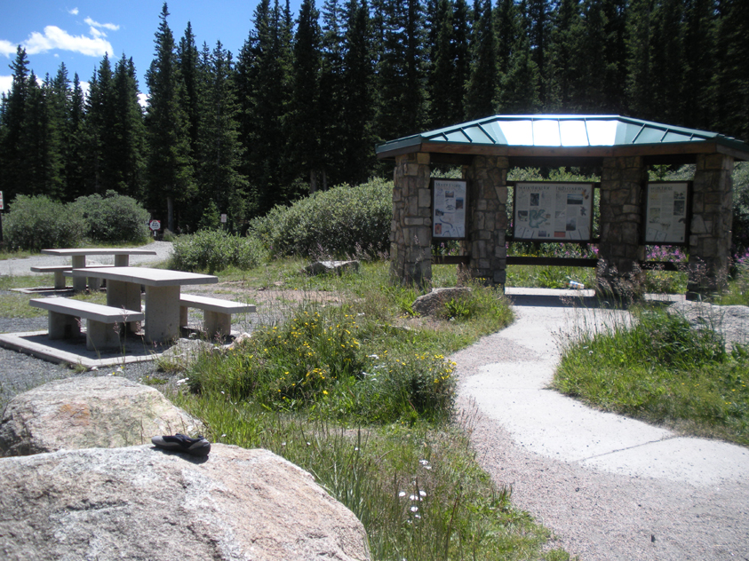 USDA Forest Service Info Station