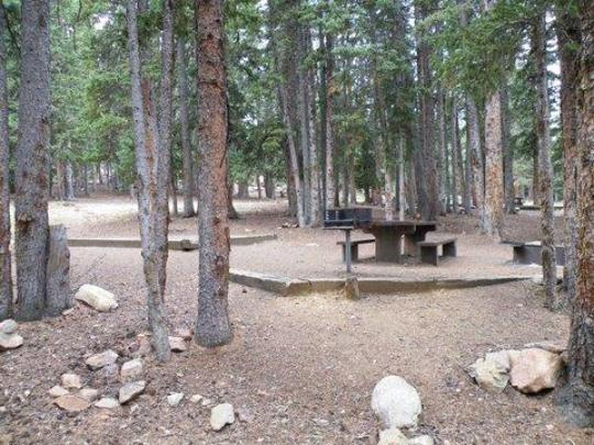 7 Tent-only sites