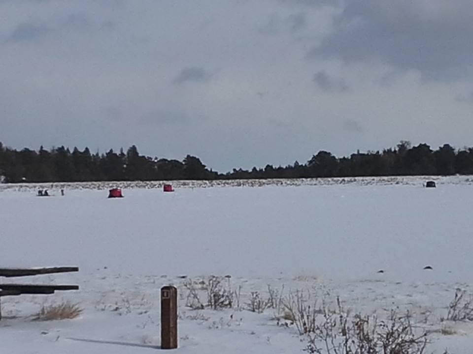 Dowdy Lake Ice Fishing