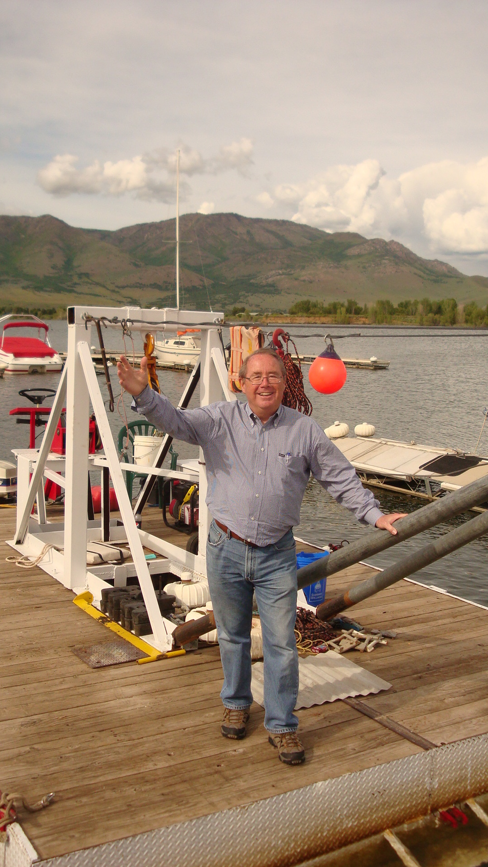 Dick Kemp, Port Marina, Pineview Reservoir, UT