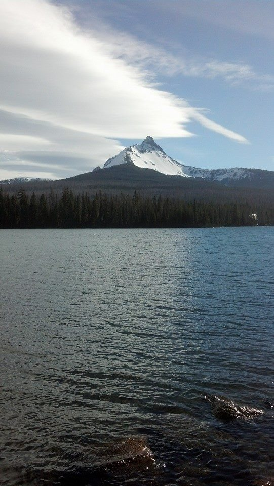 Mt Washington from Big Lake Campground