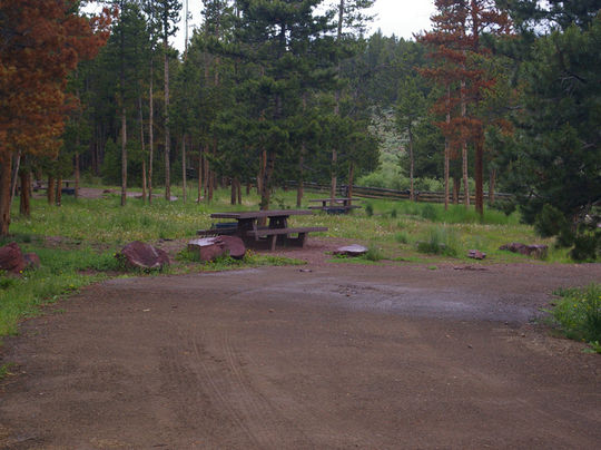 Some first-come-first-served campsites available