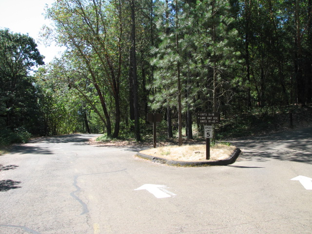 Campground and day use area for lake access