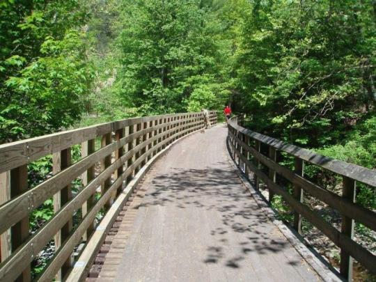 Virginia Creeper Trail, Virginia