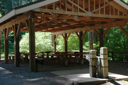 Cove Creek group pavilion