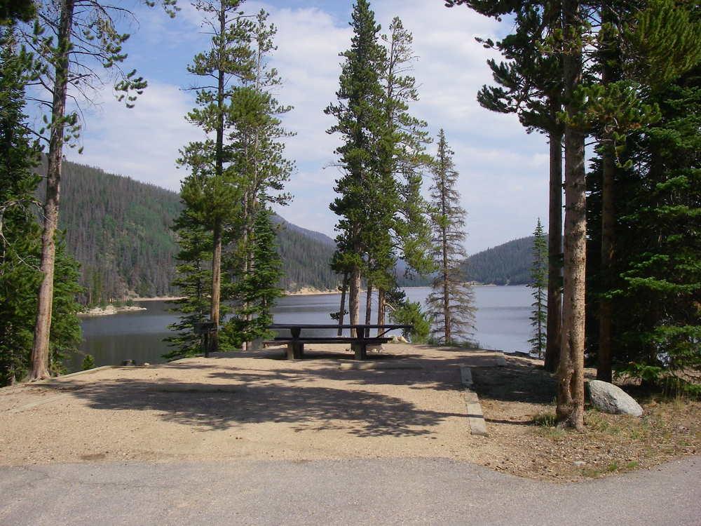 American land leisure canyon lakes ranger district for Scotts flat lake fishing
