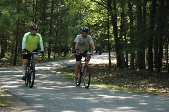 Miles of trails near Lake Michigan