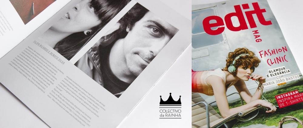 """Edit Mag - rubrica """"Pessoas"""" Colectivo da Rainha - Março 2013"""