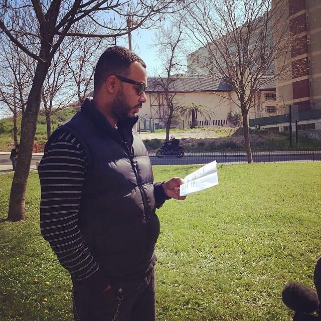 Viemos até Lisboa filmar uma campanha com o Boss AC, novidades fresquinhas ainda esta semana! #dreamteens #colectivodarainha @lacasanostravideo #lacasanostra