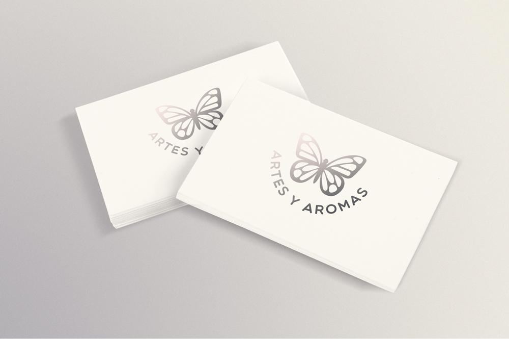 Frente dos cartões de visita / Front face of the business cards