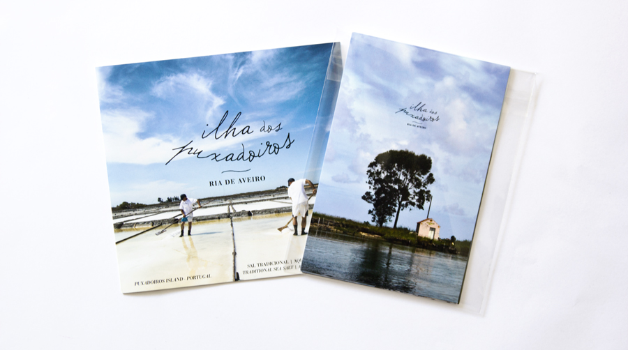 Brochura e conjunto de postais da Ilha dos Puxadoiros / Brochure and set of postcards