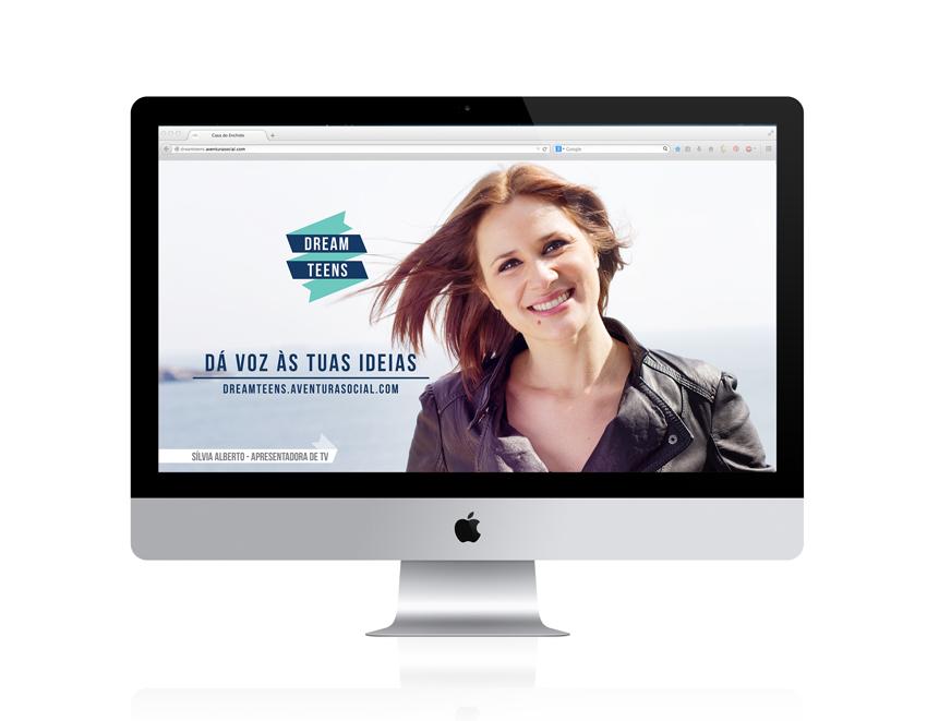 O site do projecto tem uma estrutura simples e dá destaque aos embaixadores e aos vídeos.