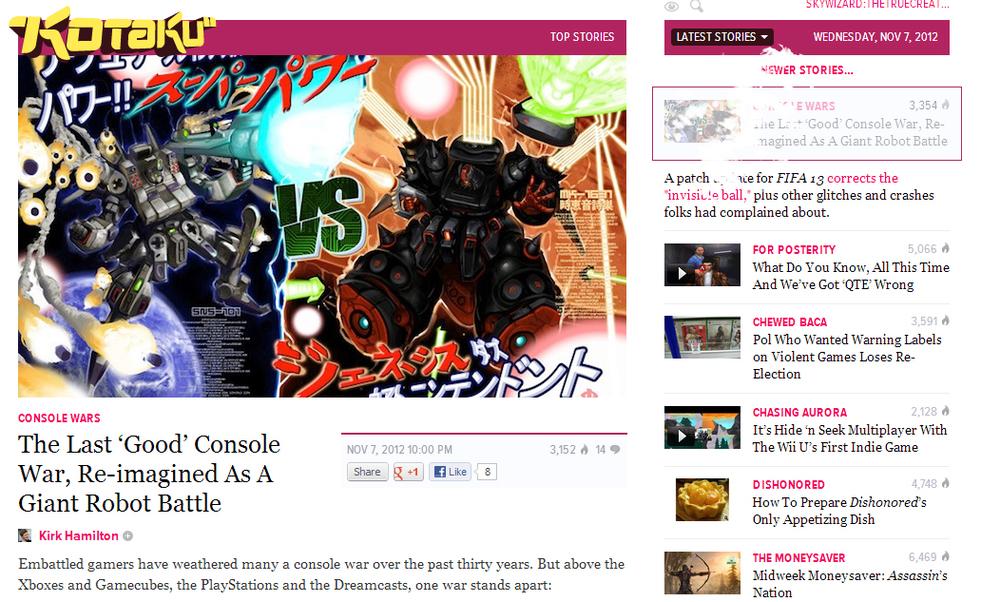 front page on kotaku.com!!! yeah!
