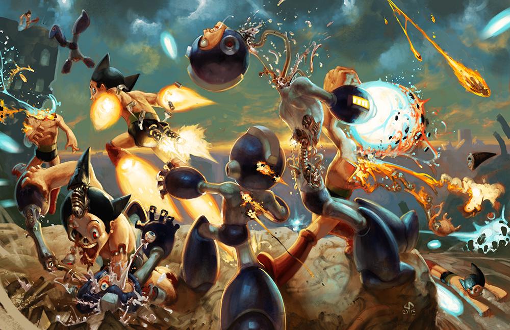Megaman VS Astroboy