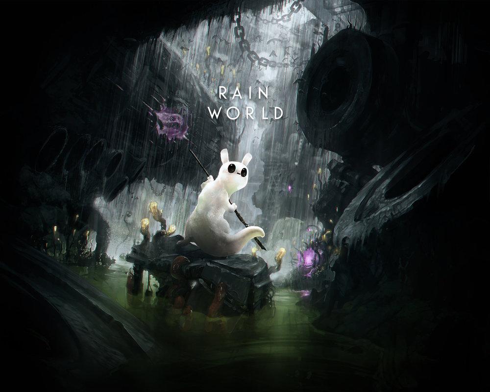 Rain World E3 banner art