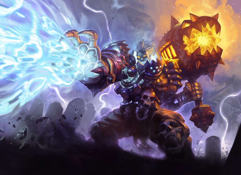 """League of Legends """"Sion REX"""" fan redesign"""