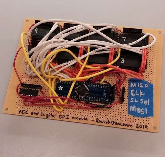 The ADC / Mux board