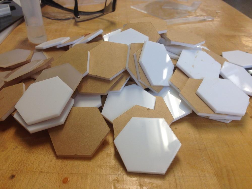 So many hexagons
