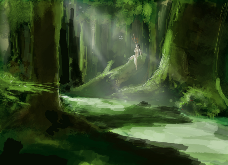 "Hey guys here is a really quick speed paint i did.  Gonna try and do one of these everyday. Its just a really good way to get faster and get better and fundamentals. They will all be an hour to an hour and a half long and it should be fun to see the progression.  I'll also be starting a new ""for real"" piece today. :)"